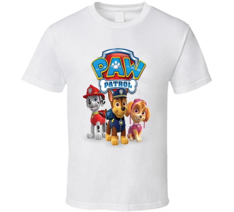 paw Patrol Custom Design T Shirt