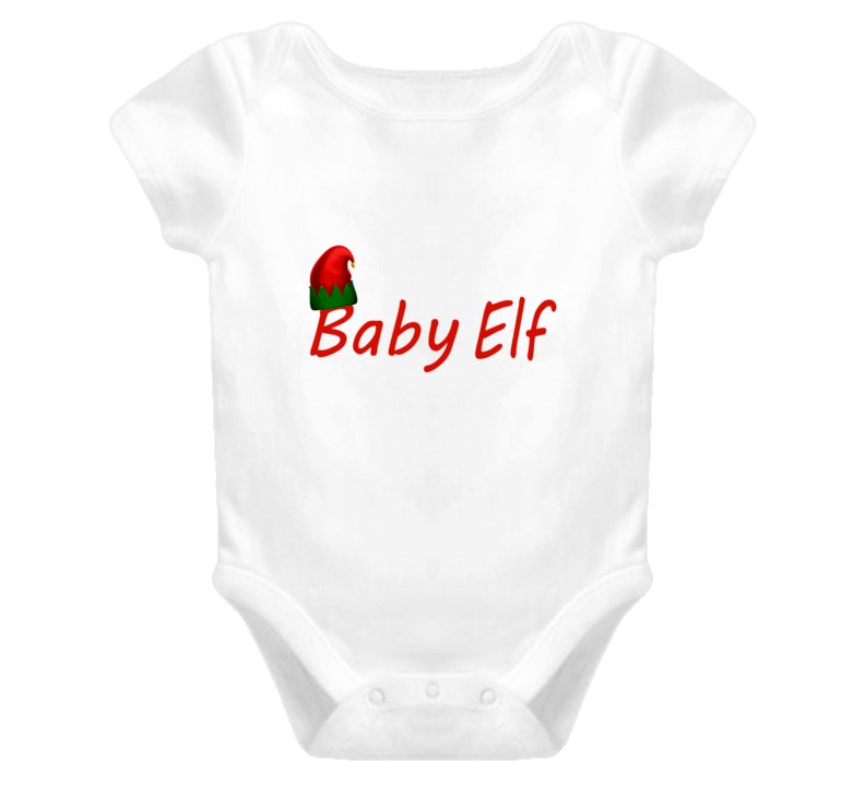 Cute Baby One Piece Baby Elf Christmas Baby Onesie