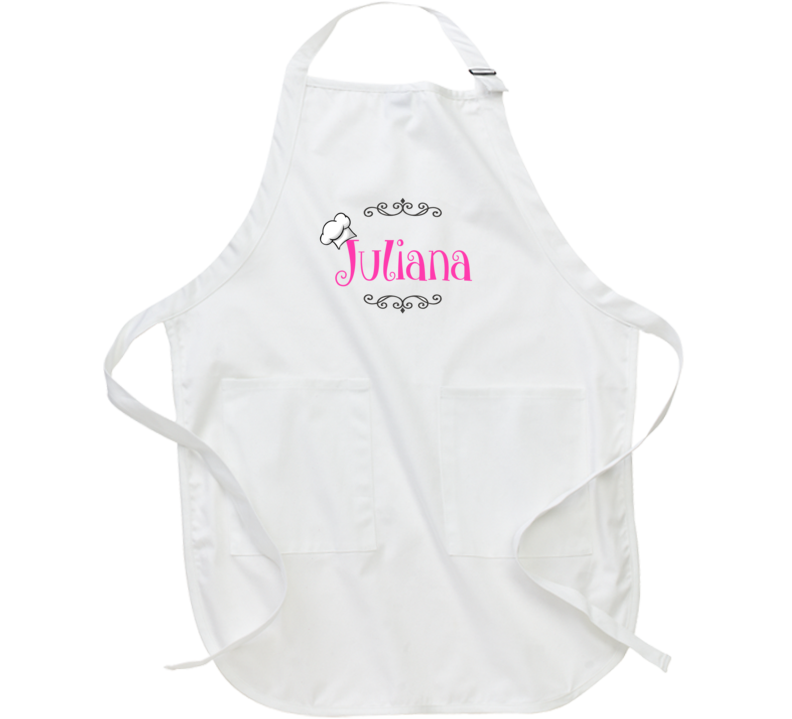 Cute Personalized Apron For Girls Add Any Name to Apron