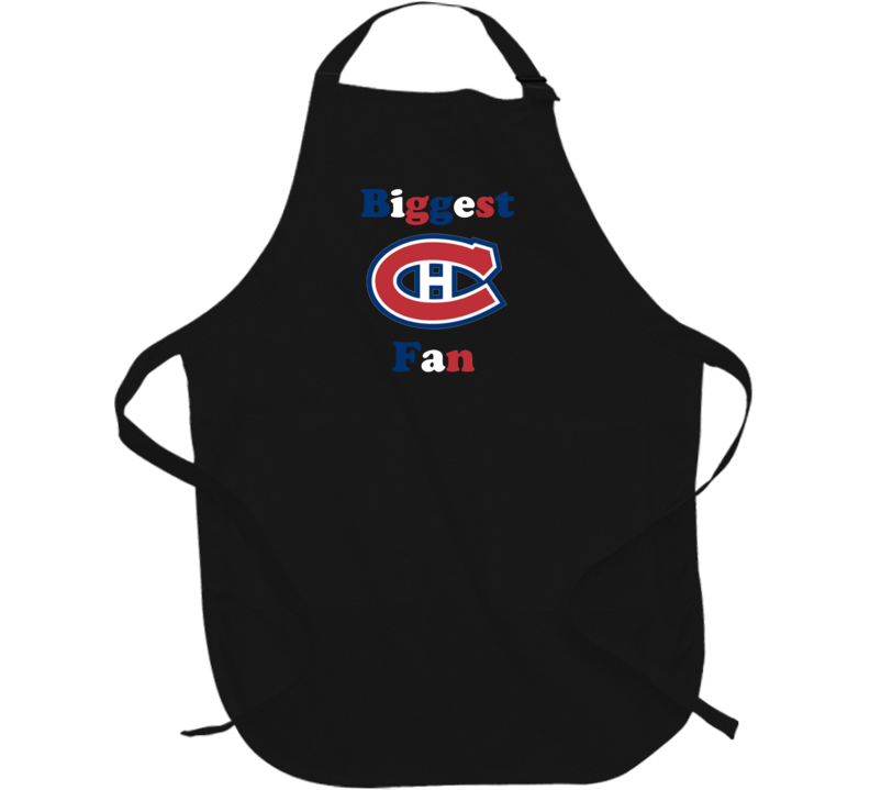 Biggest Montreal Canadiens Fan Apron Hockey