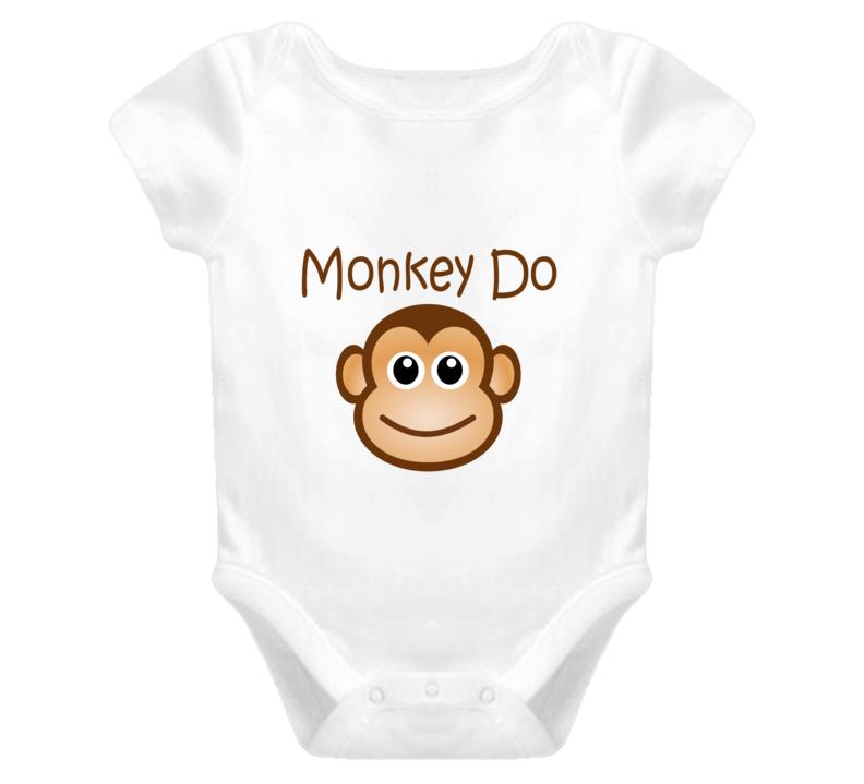 Monkey Do funny baby onesie