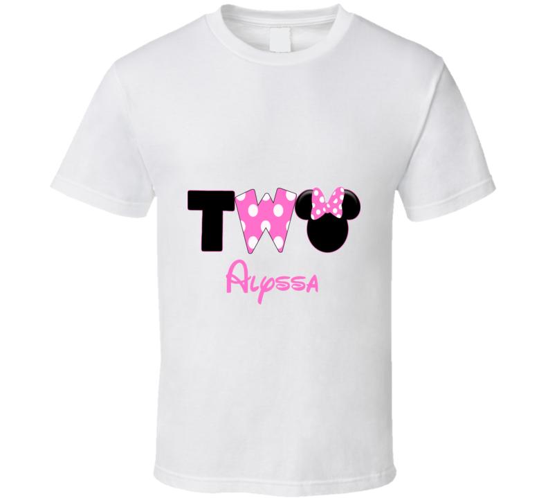 Toddler Girl Birthday Custom Order T Shirt