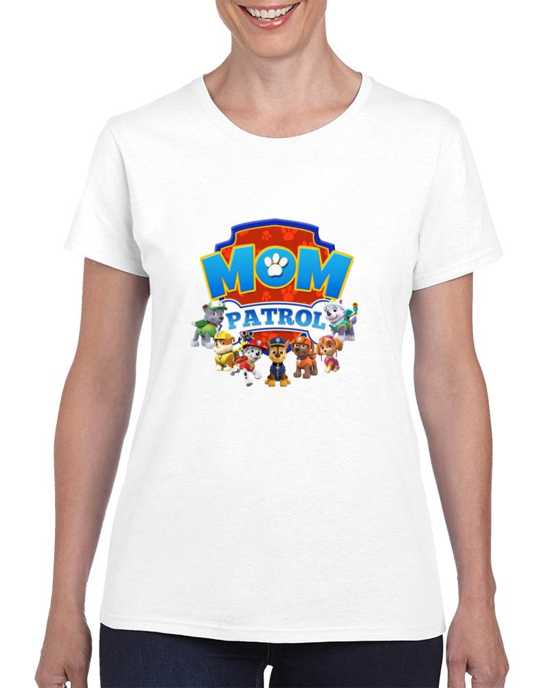 Paw Patrol Birthday Mom Patrol Personalized Family Tshirts Nick Jr T Shirt