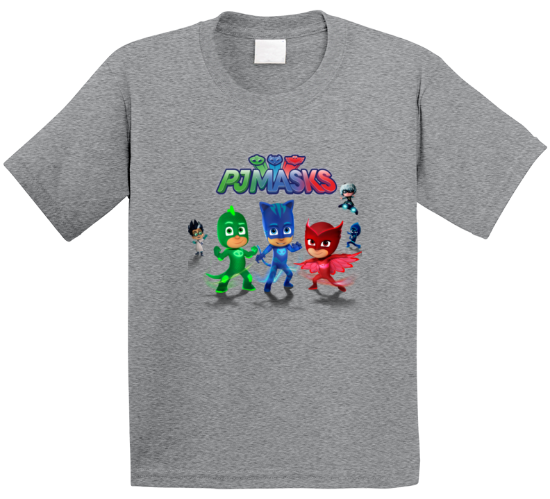 Pj Masks T Shirt For Kids Or Adults Cute Custom Pj Masks Top
