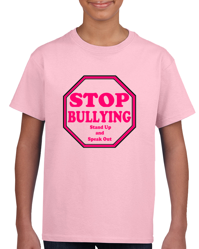Anti Bullying T Shirt Stop Bullying Pink Shirt Day Tshirt