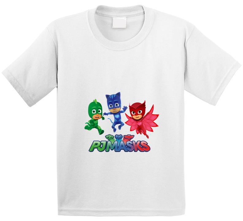 Pj Masks Kids Toddler Tshirt Disney Jr Show