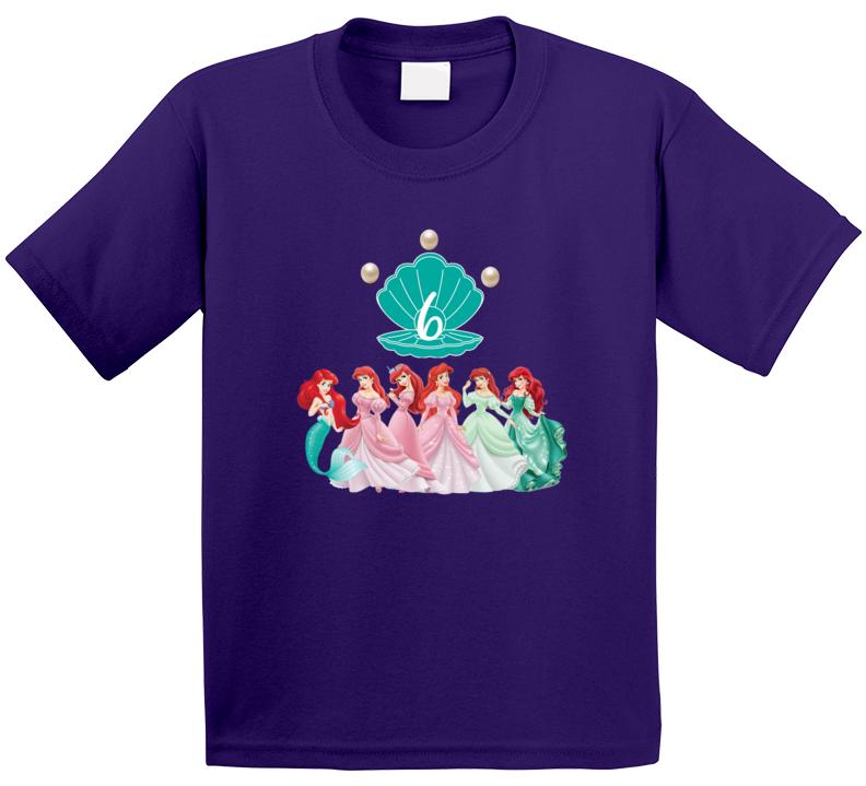 Ariel Birthday T Shirt