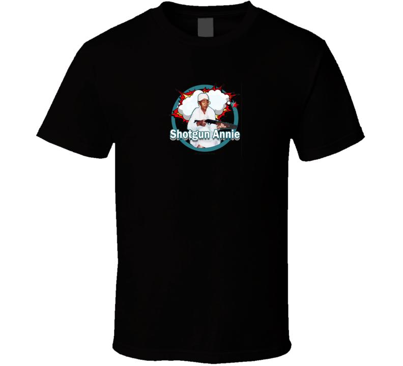 Shotgun Annie Official  T Shirt