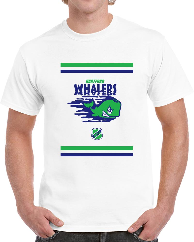 Vintage Hartford Whalers Art Logo T Shirt