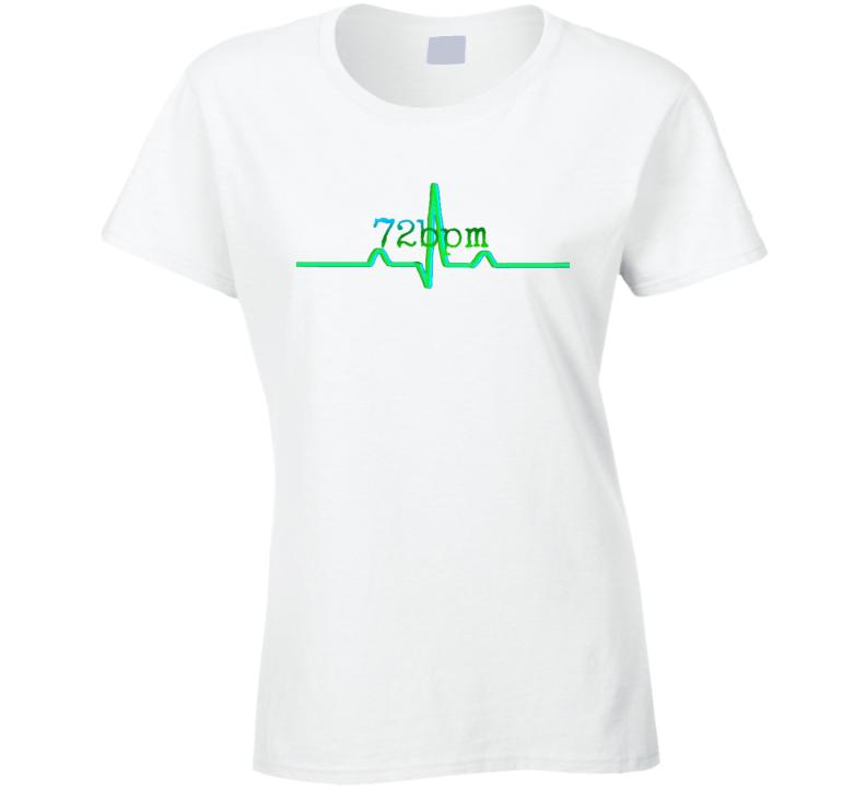 Official 72bpm T-Shirt: Ladies