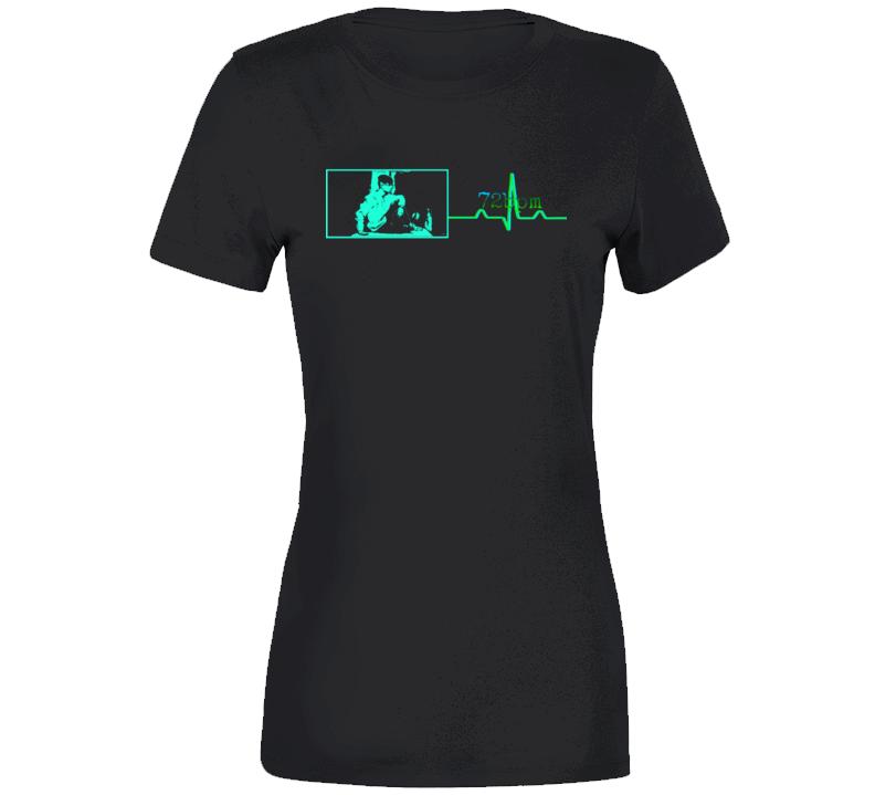 72bpm Premium Tour T-Shirt: Ladies