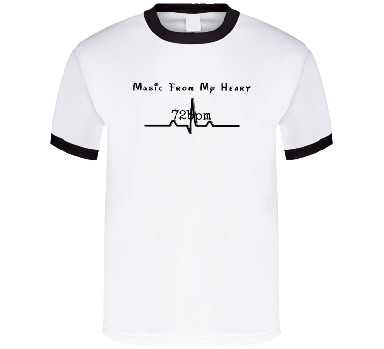 """Music From My Heart"" (Black) Merchandise"