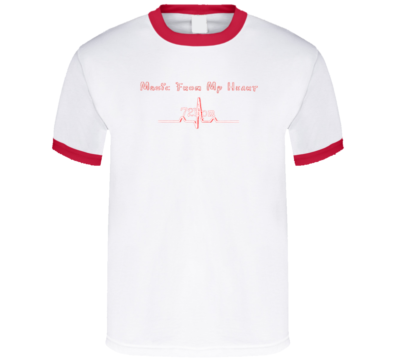 """""""Music From My Heart"""" (Red) Merchandise"""