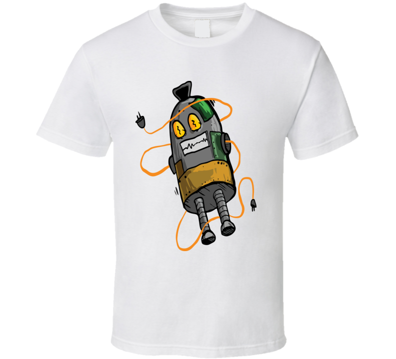 Scared Roboto T Shirt