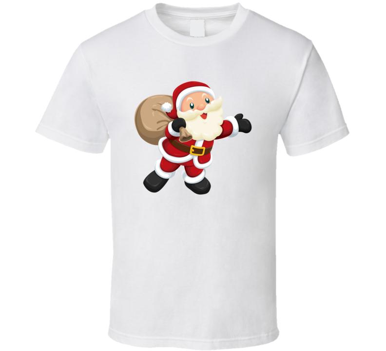 Cute Santa Christmas T Shirt