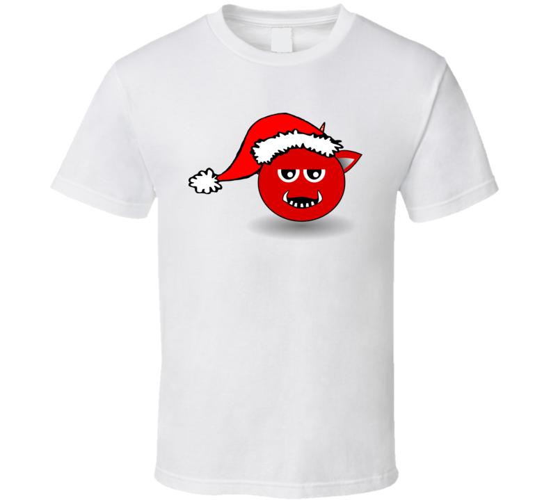 Devil Santa T Shirt