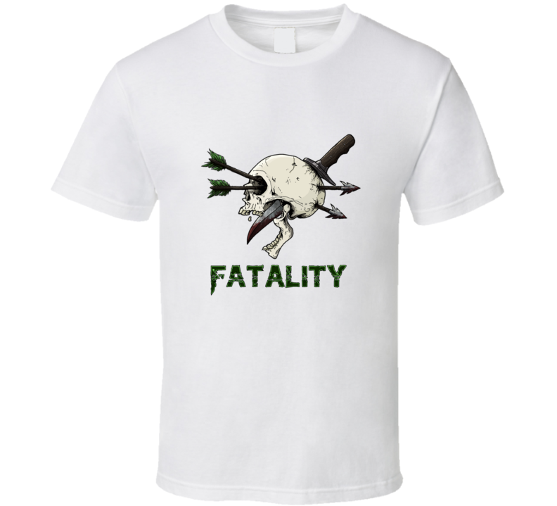 Fatality Skull T Shirt