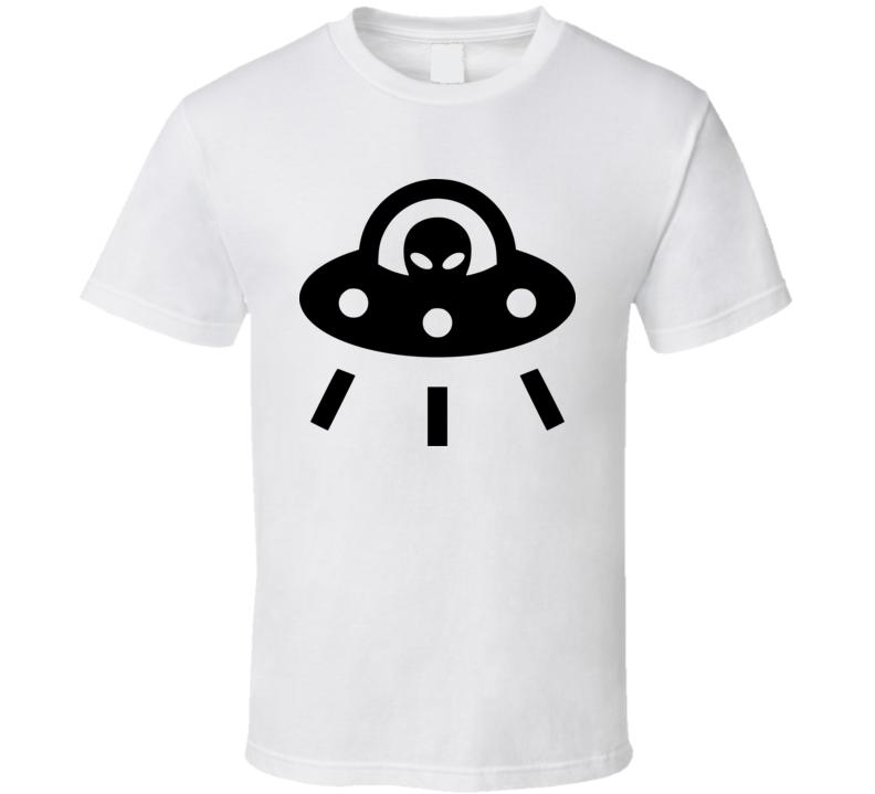 UFO on my shirt