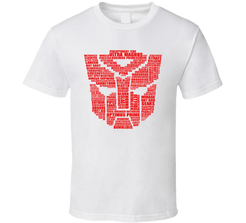 Autobot Typography T Shirt