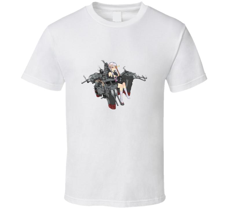 warship girl anime manga T Shirt