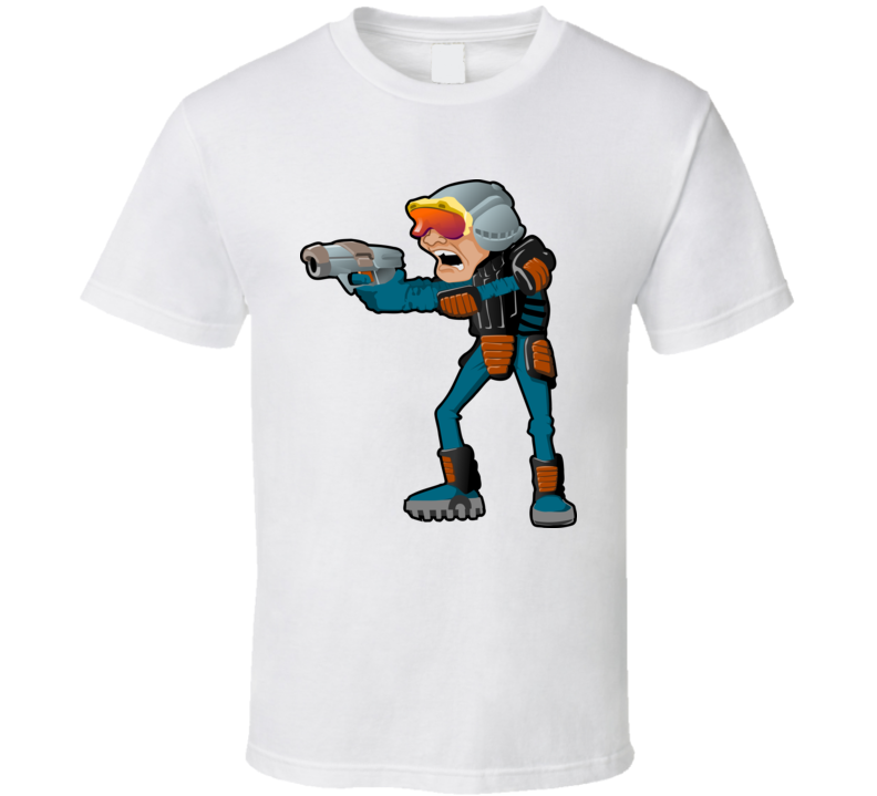 Space Police T Shirt