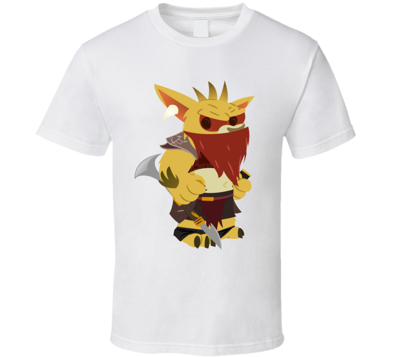 Chibi Dota Character Bounty Hunter T Shirt
