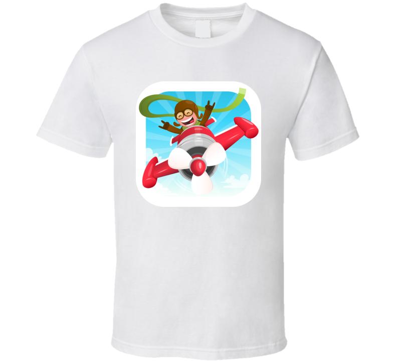 Happy Kid Pilot T Shirt