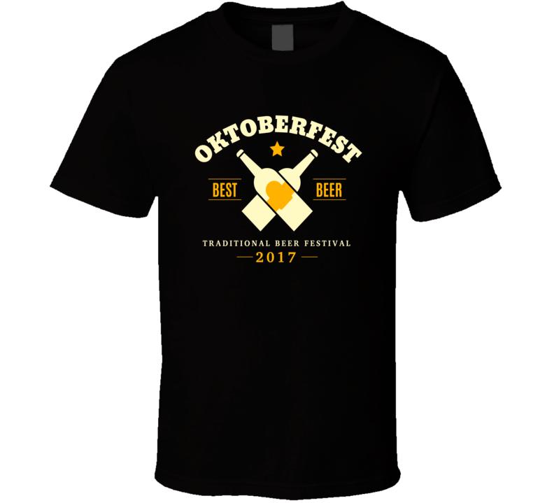 Oktoberfest Best Beer 2017 T Shirt