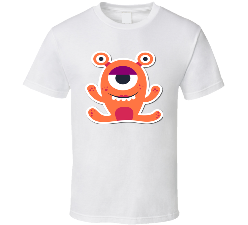 Funny Kid Alien T Shirt