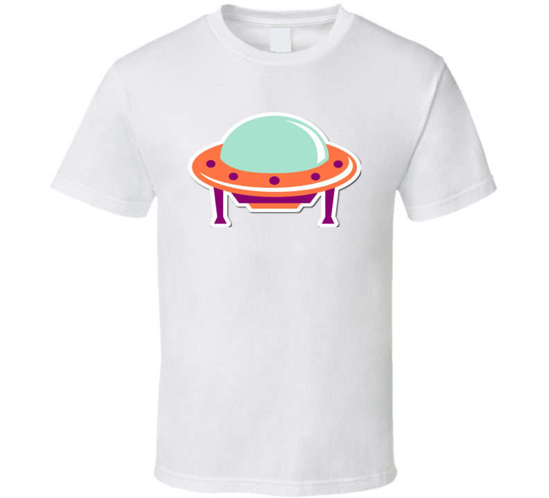 Funny Kid Ufo T Shirt