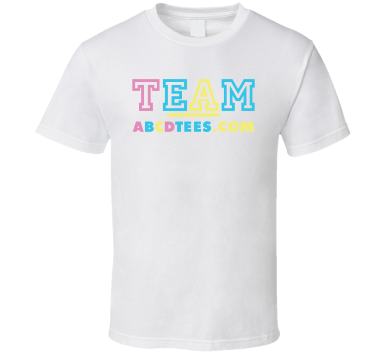 Team Shop Abcdtee.com T Shirt