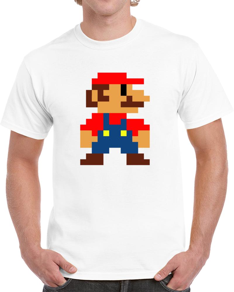 8 Bit Mario T Shirt