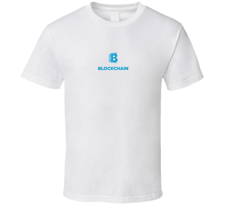 Blockchain Crypto Logo T Shirt