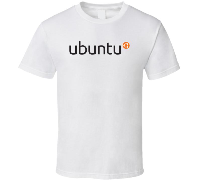 Ubuntu Os Linux Logo T Shirt
