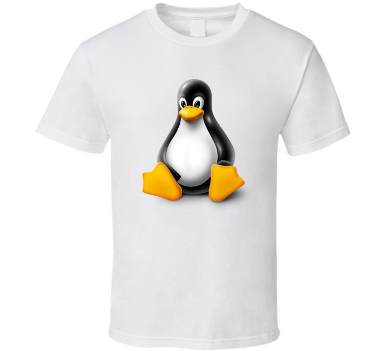 Tux Os Linux Logo T Shirt