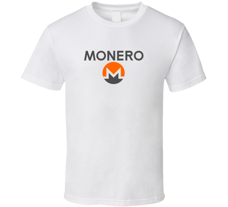 Monero Xmr Crypto Logo Cool T Shirt