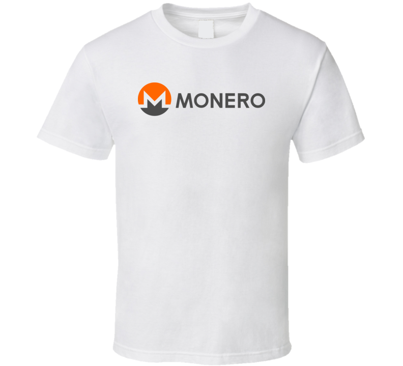 Xmr Monero Logo Crypto Cool T Shirt