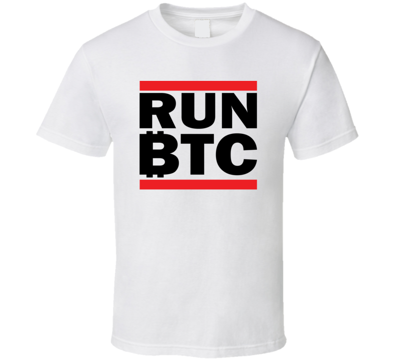 Run Btc Funny Btc Eth Cryptocurrency T Shirt