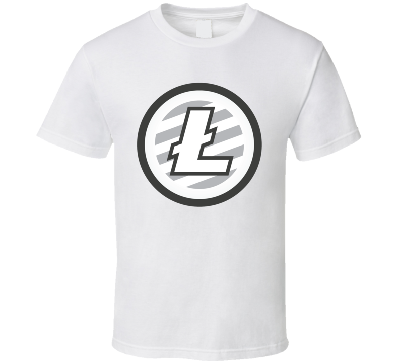 Litecoin Logo Crypto Cool Mens Tee T Shirt