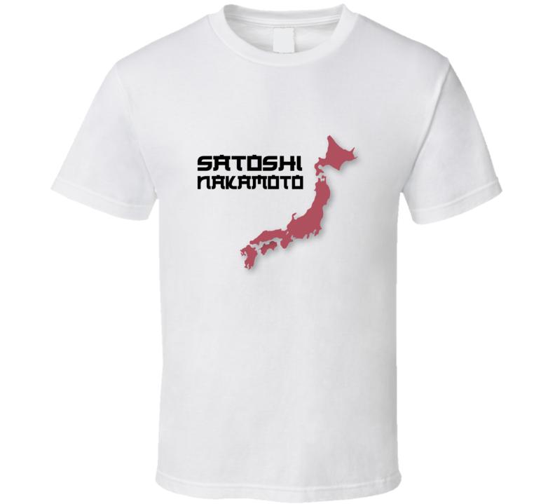 Satoshi Nakamoto Funny Crypto T Shirt