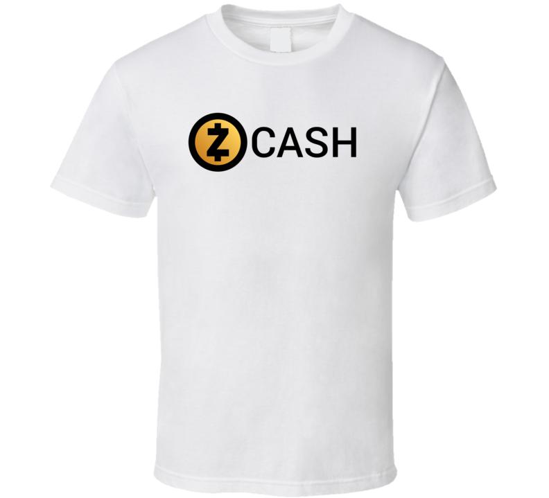 Zcash Zec Logo Crypto Funny T Shirt