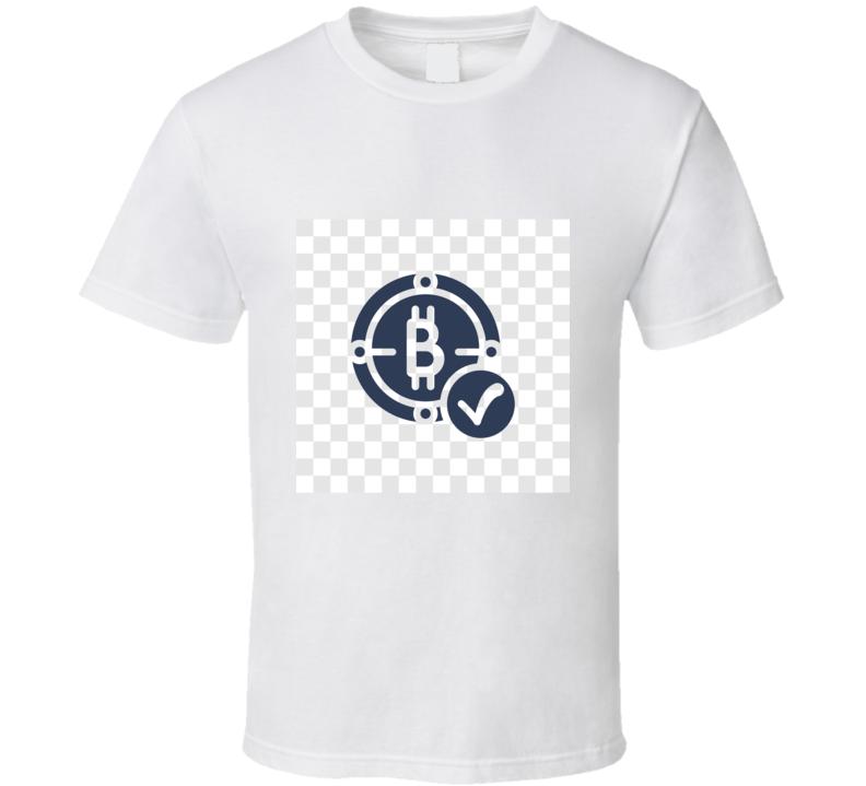 Bitcoin Cool Btc Cryptocurrency Logo T Shirt