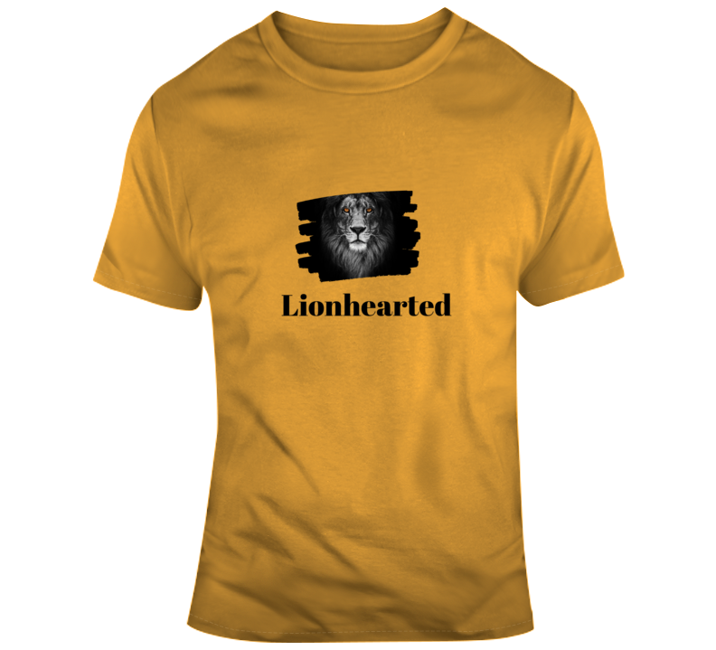 Lionhearted T Shirt