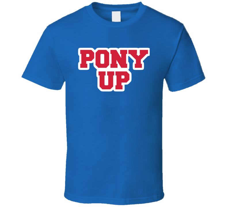 Pony Up College Basketball Dallas Texas March T Shirt