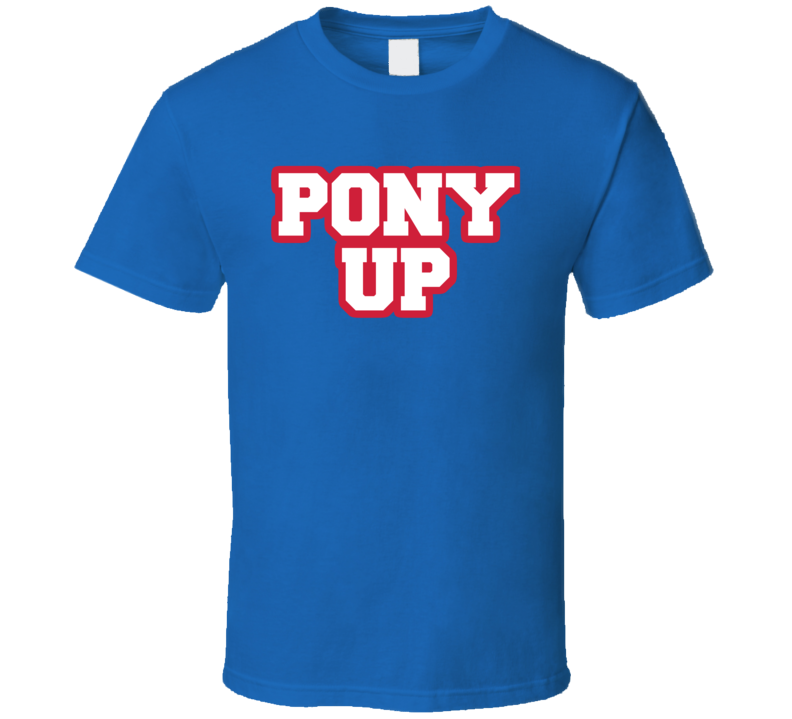 Pony Up College Basketball Dallas Texas March Tournament T Shirt