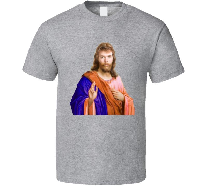 Connor McDavid Funny McJesus Edmonton Hockey Jesus Nickname T Shirt