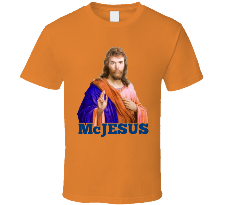 Connor McDavid Funny McJesus Edmonton Hockey Jesus Nickname Playoffs T Shirt