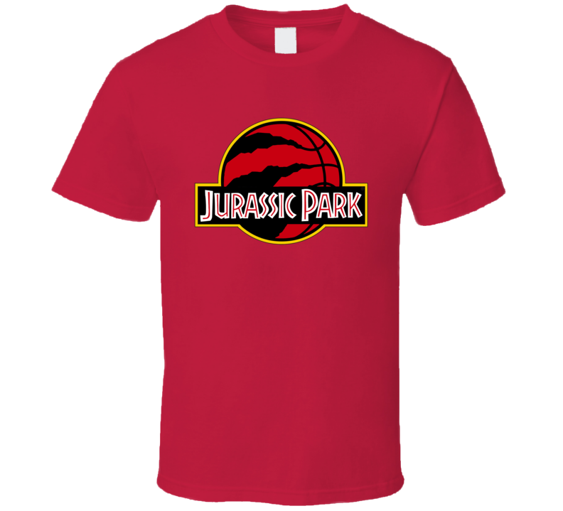 Toronto Basketball The Finals Jurassic Park Logo Parody Mashup Game Viewing We The North T Shirt