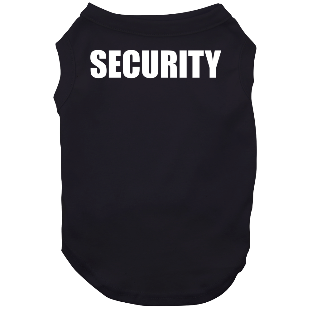 Security Bouncer Night Club Dad Boyfriend Bro Event Dog