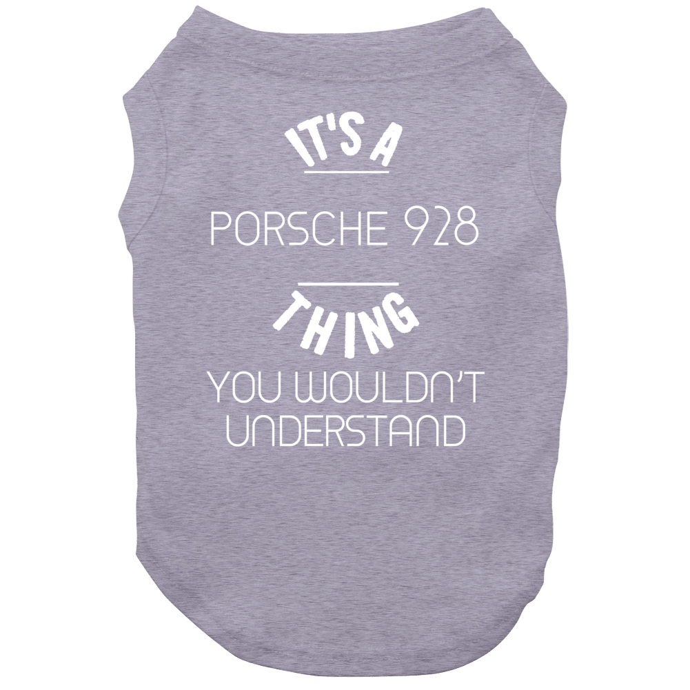 Porsche 928 Thing Wouldnt Understand Funny Car Dog